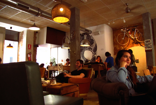 bicicleta café cycling malasaña madrid
