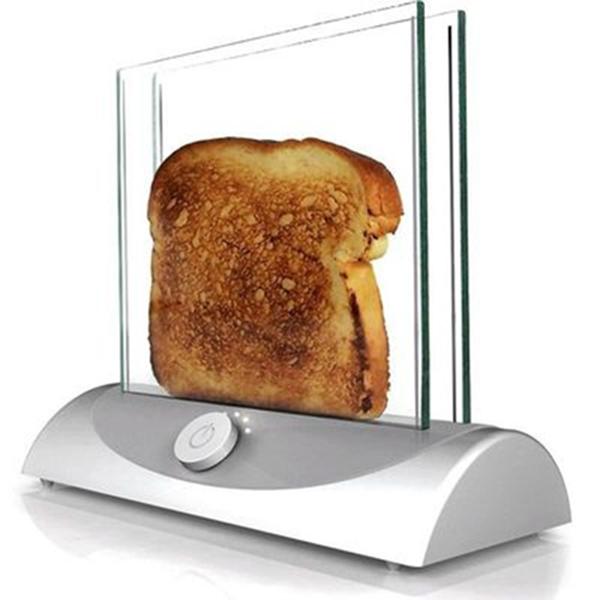 tostadora vidrio chamusquina tostadas