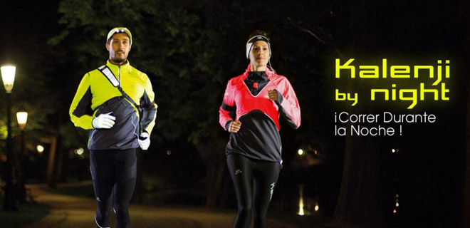correr noche running