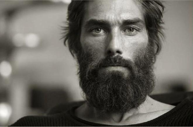 barba moderna hipster