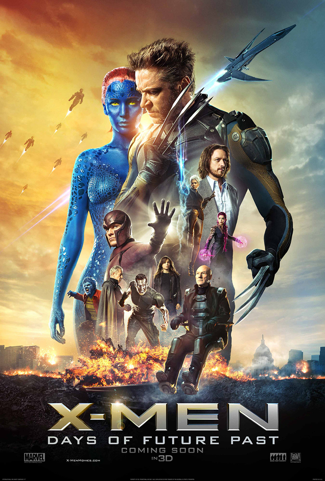 Cartel de X-Men: Days of future past
