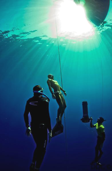 guillaume nery freediving record verano