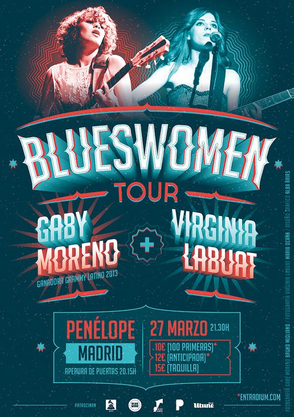 gaby moreno virginia labuat blueswoman penelope madrid