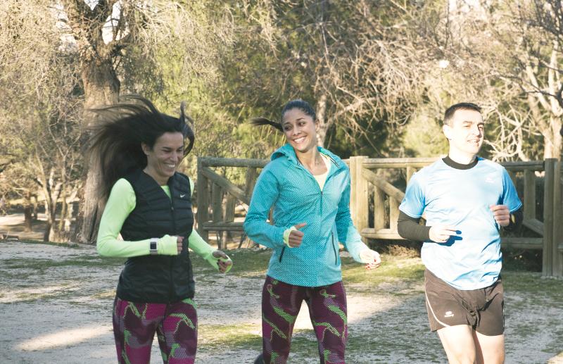 mariam hernandez gym tony la tira actriz fuerteventura fit girl yu fitness running