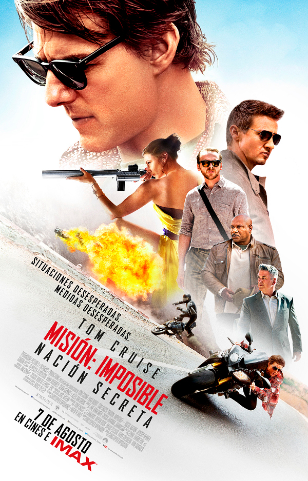 mision imposible mission impossible tom cruise cine movie fergusson