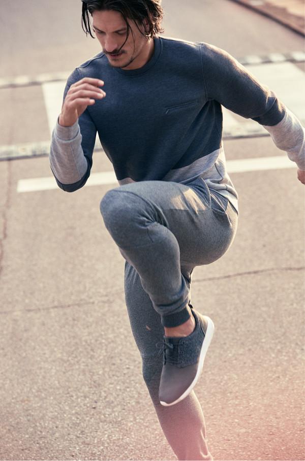 mango sport performance training moda deporte hombre sudadera