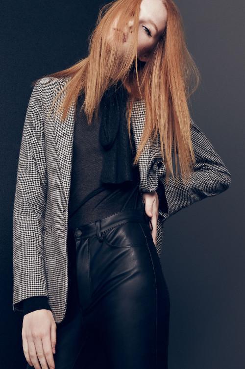 zara inditex catalogo otoño invierno 2015 2016 moda fashion gris ropa
