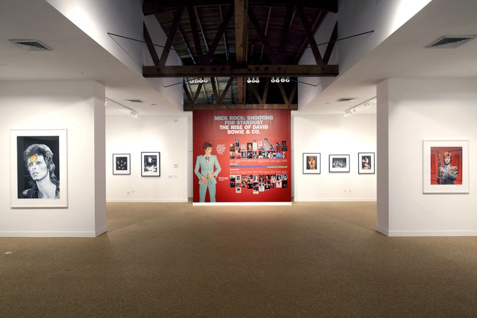 the rise of david bowie mick rock los angeles TASCHEN gallery los angeles