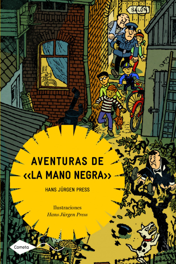 aventuras de la mano negra alejandra rodriguez hans jurgen libro infantil juvenil aventuras planeta cometa