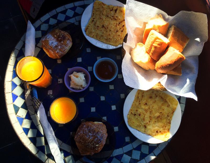 Marrakech marruecos viaje turismo ciudad plan desayuno
