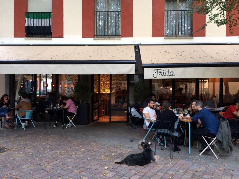 restaurante frida chueca san gregorio