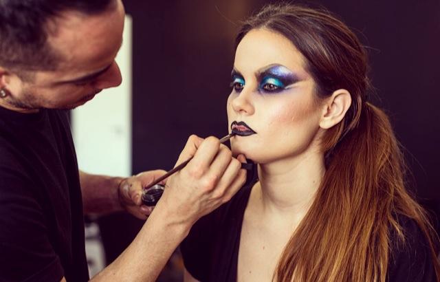 partido mairen muñoz maquillaje makeup forever