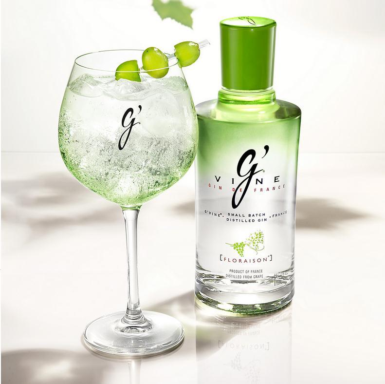g'vine ginebra gin vino france ultra premium arco arte izaskun mr plant
