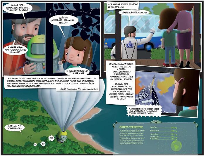 selena sixto astronauta universo dideco sieteleguas libro infantil