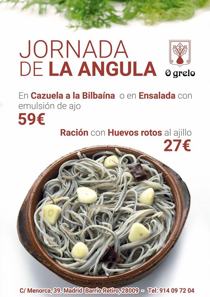 angula ogrelo orecanto madrid jornadas gastronomia restaurante gallego recetas