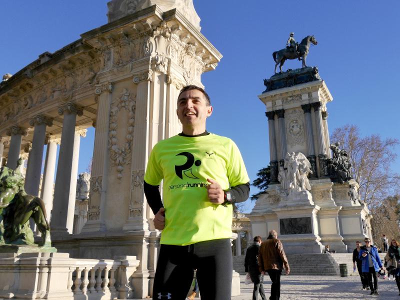 media maraton personal running retommm retiro madridúltimo mes preparación tapering