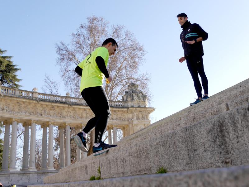 personal running retommm último mes preparación tapering