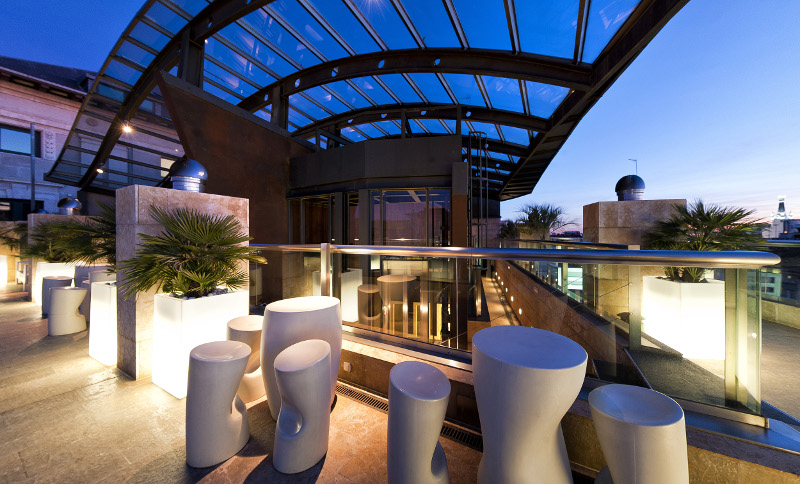hotel urban madrid terraza