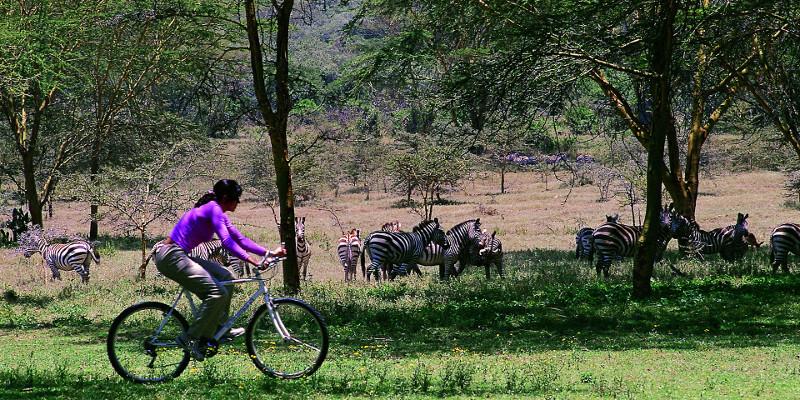 kenia viaje turismo vacaciones activas bicicleta