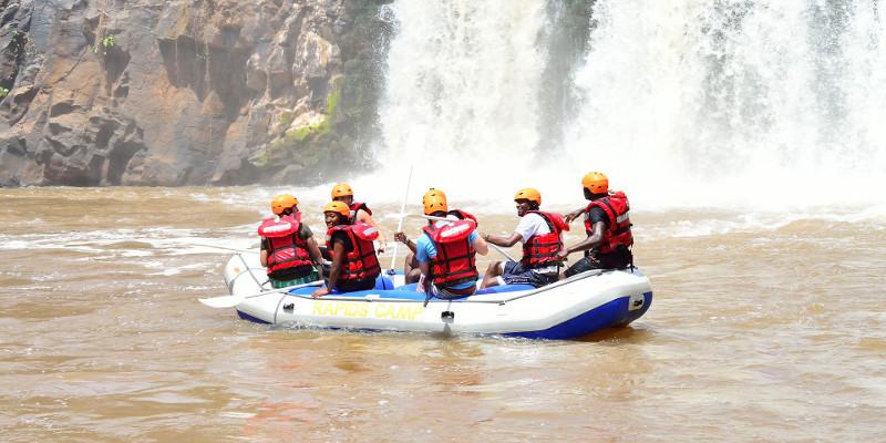 vacaciones kenia turismo viaje rafting africa