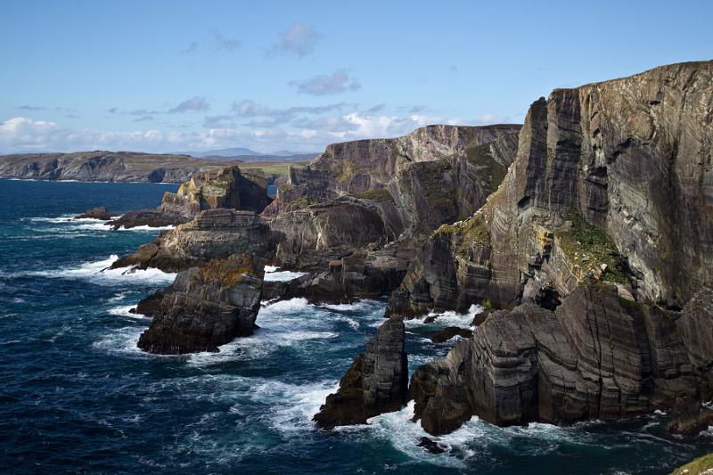 viaje barato irlanda mizen cliffs cork mar