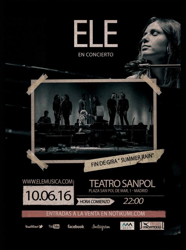 summer rain ele teatro sanpol concierto gira