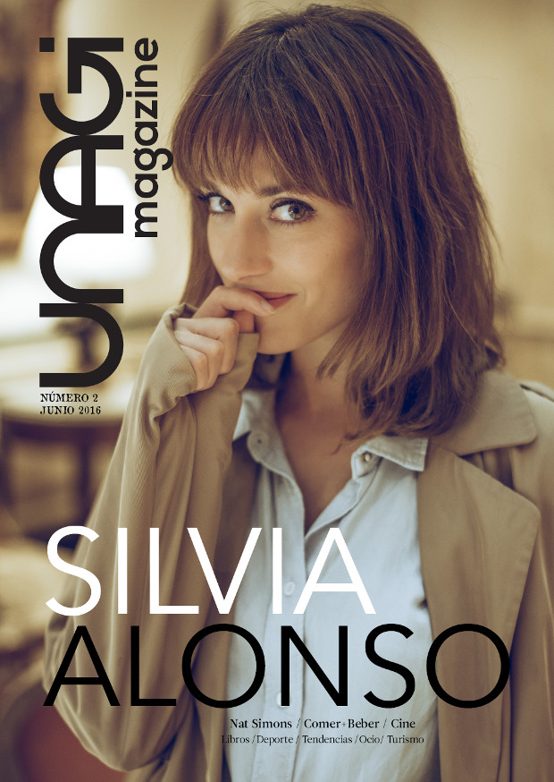 portada número 2 revista digital unagi magazine silvia alonso