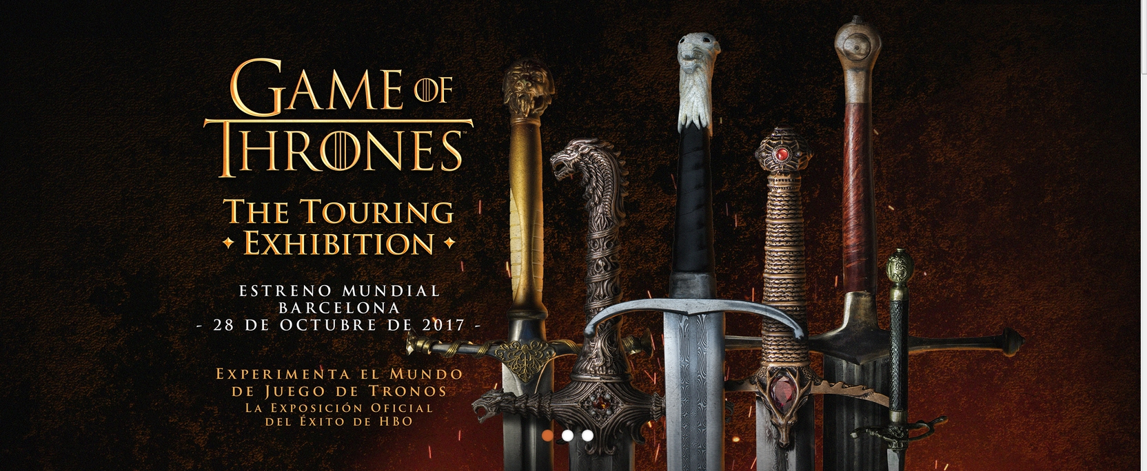 game of thrones exhibition barcelona expo