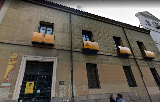 sociedad cervantina calle atocha edificio sede