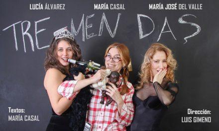 La actriz María Casal lleva Tre-Mendas a Rivas Vaciamadrid