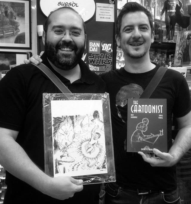 cartoonist paco hernandez daniel cardiel ponent comic novela grafica
