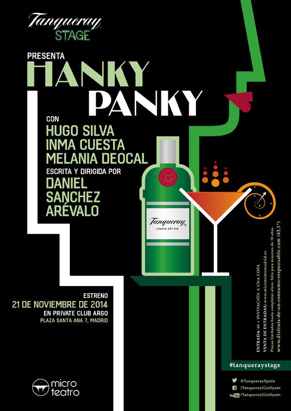 hanky panky sanchez arevalo hugo silva inma cuesta tanqueray microteatro