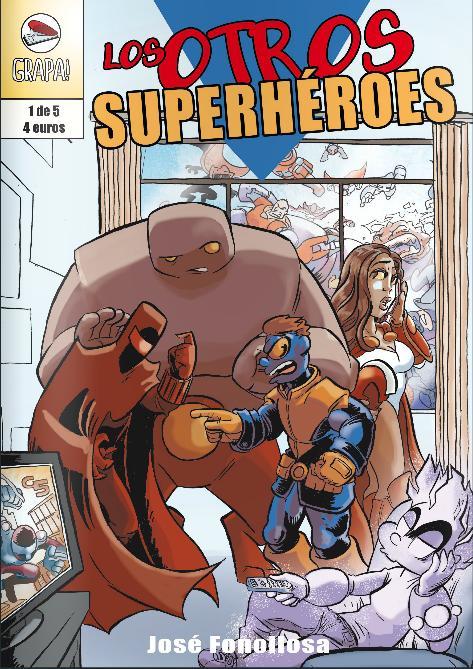 grapa fonollosa superhéroes comic