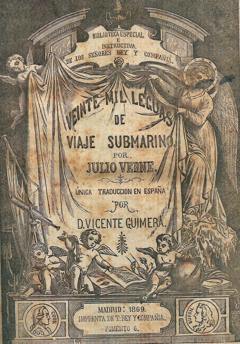 veinte mil leguas viaje submarino javier roman verne