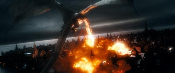 hobbit batalla cinco ejercitos doc pastor smaug