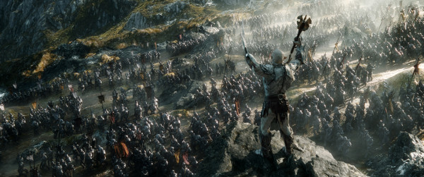 batalla cinco ejercitos erebor tolkien jackson hobbit smaug