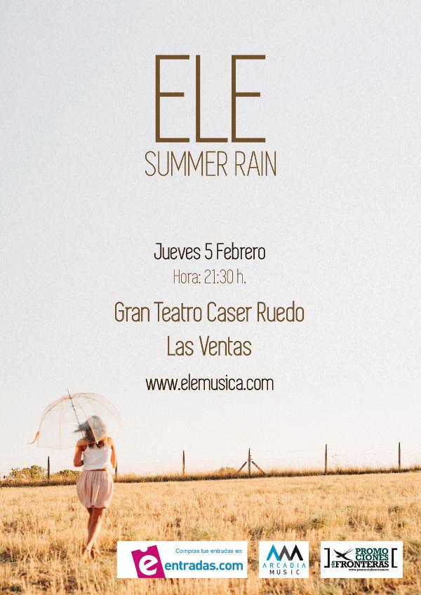elena iturrieta ele concierto las ventas caser directo summer rain