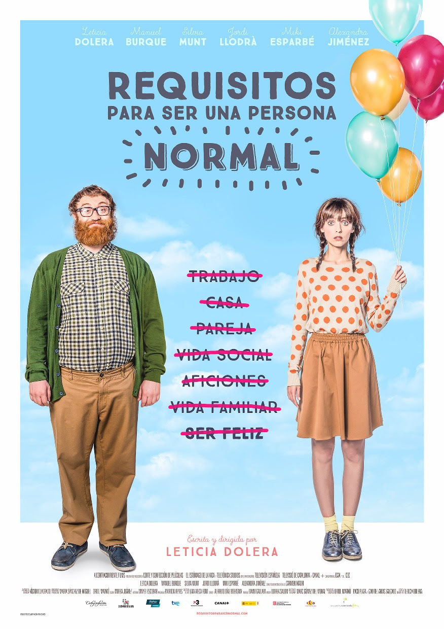 leticia dolera requisitos persona normal cine pelicula