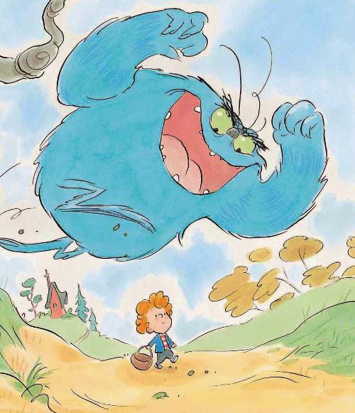 oliver y el troll editorial picarona novela ilustrada album niños cuento infantil
