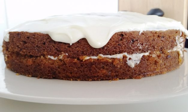 Carrot cake (tarta de zanahoria)