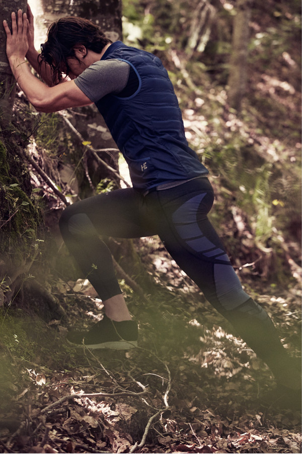 mango sport performance running moda deporte chaleco mallas hombre