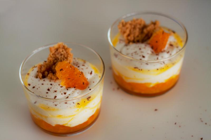 crumble postre harina huevos naranja unagi magazine loreto pascual receta