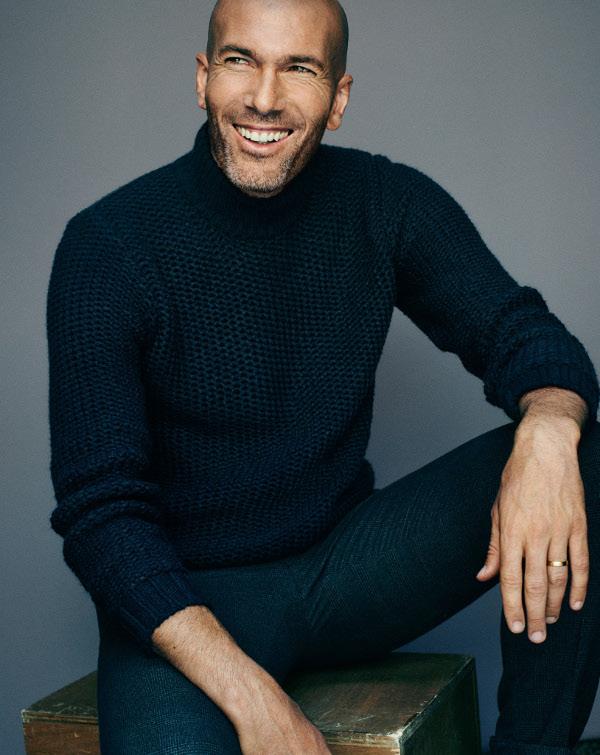 zidane mango man moda hombre futbol jerseys abrigos guapo
