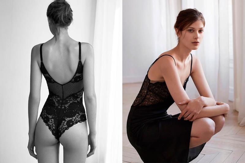 oysho inditex moda lenceria braguita brasileña sujetador encaje baudelaire