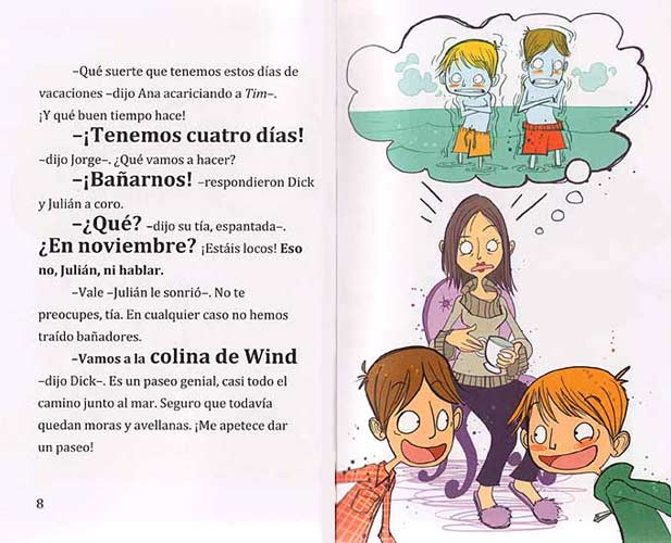 aventura otoñal los cinco novela unagi magazine alejandra rodriguez