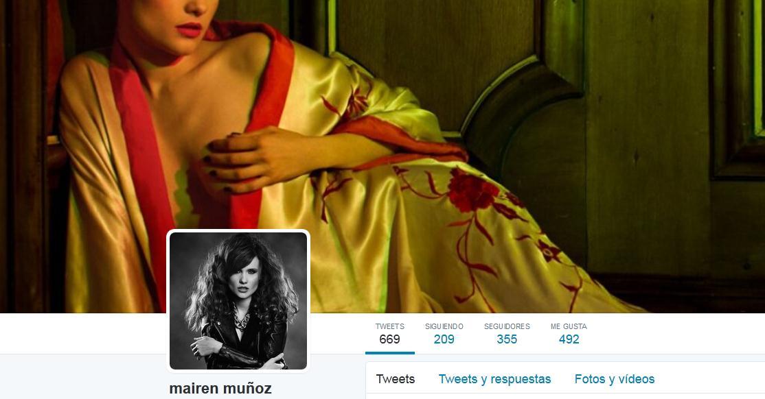 mairen muñoz atrévete twitter actriz modelo