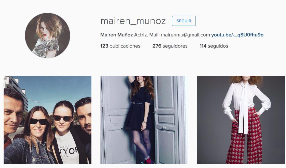 mairen muñoz atrévete instagram actriz modelo