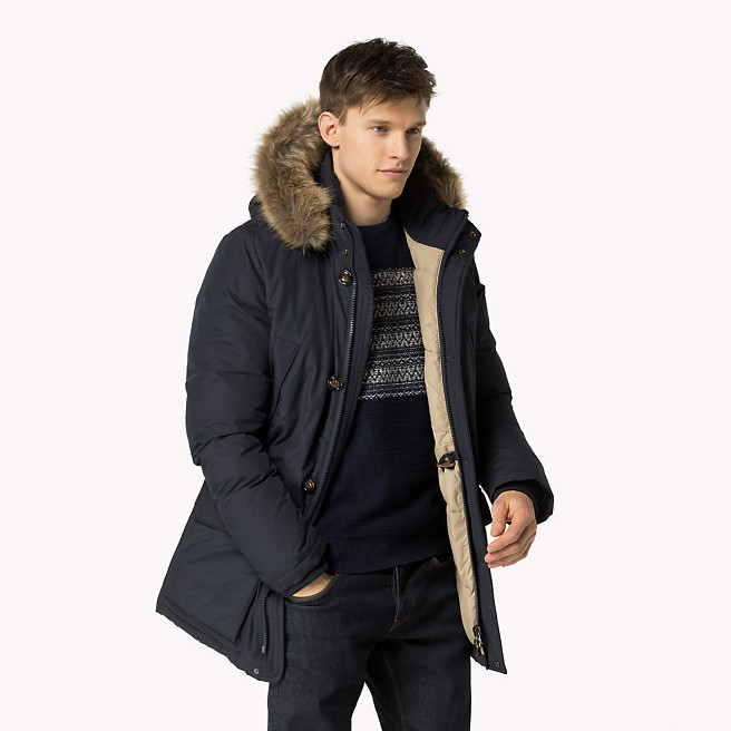 parkas tommy hilfiger invierno 2016 winter