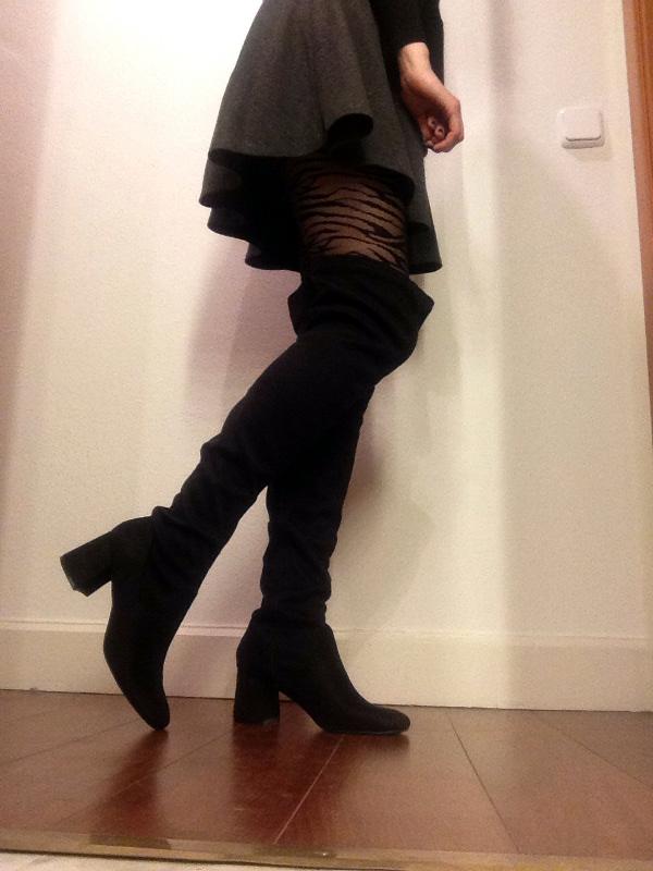 mairen muñoz primark botas entre bastidores narras actriz modelo