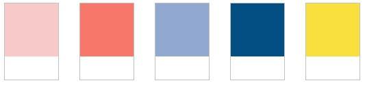 colores de moda pantone rose quartz serenity blue unisex colour palette color spring primavera 2016
